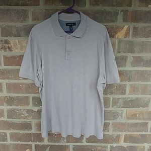 Nordstrom Polo Shirt L Oatmeal